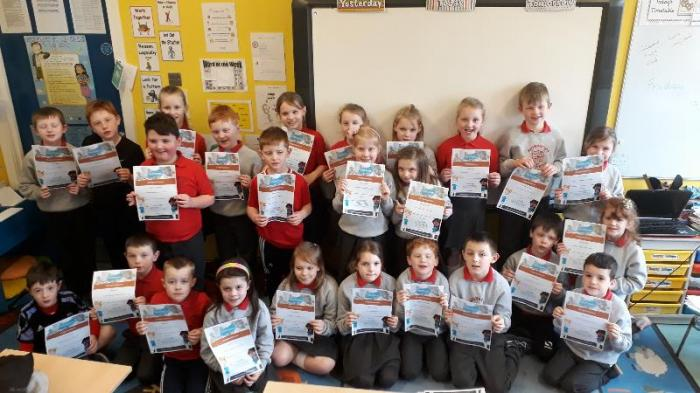 Bronze Mathletics certificate winners this week!