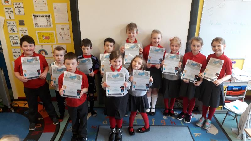 Silver Mathletics certificate winners this week!