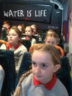 P6 visit the Water Bus