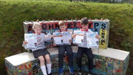 Silver and Bronze Mathletics Certificates Awarded in P3 and P4