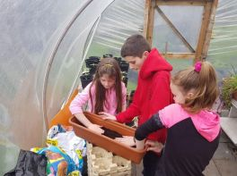After School Gardening Club - Week 3 for Group 2