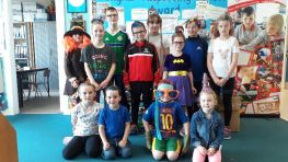 Crazy Hair and Crazy Dress Up Day, 1st June 2018