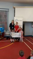 Presentation of Cheque to Brain Injury Charity