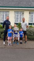 Dungannon Swifts' Visit To School
