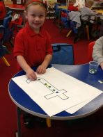 P1 - long ladder letter formation