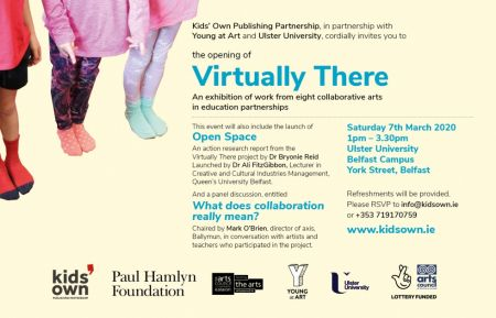 Belfast Children's Festival launch invitation